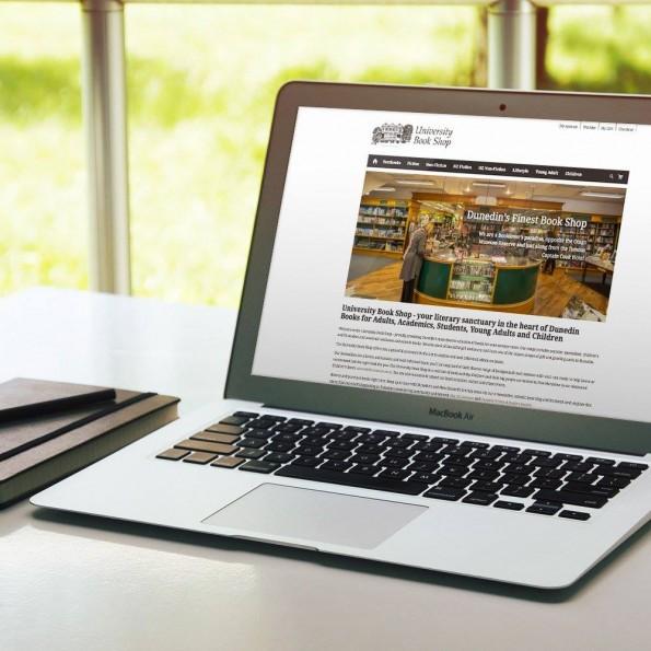University Bookshop's New E-Commerce Website