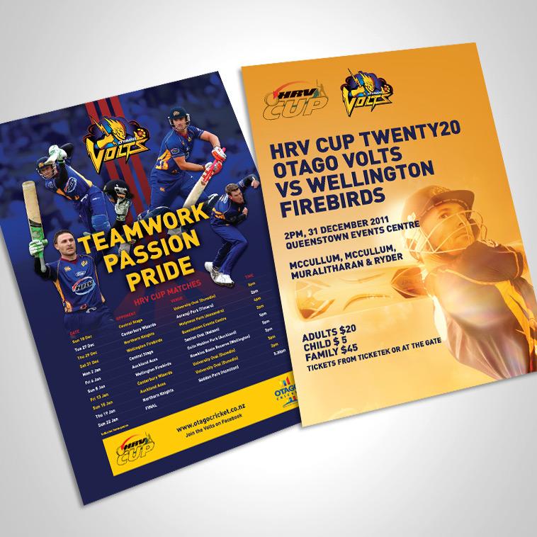 Otago Cricket Advert
