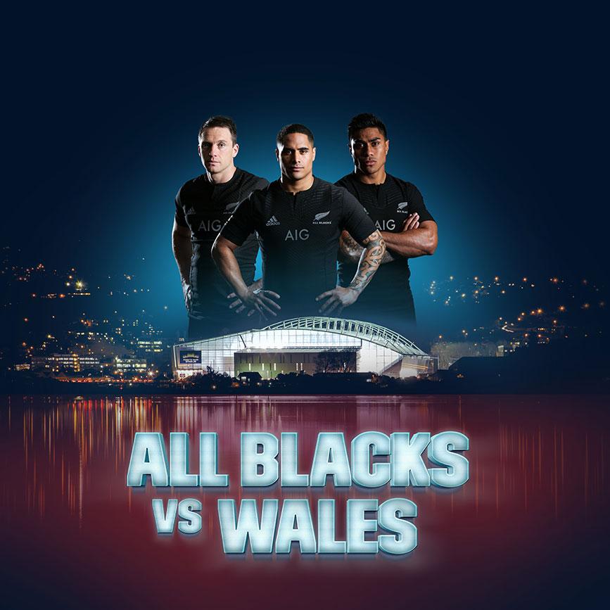 All Blacks vs Wales