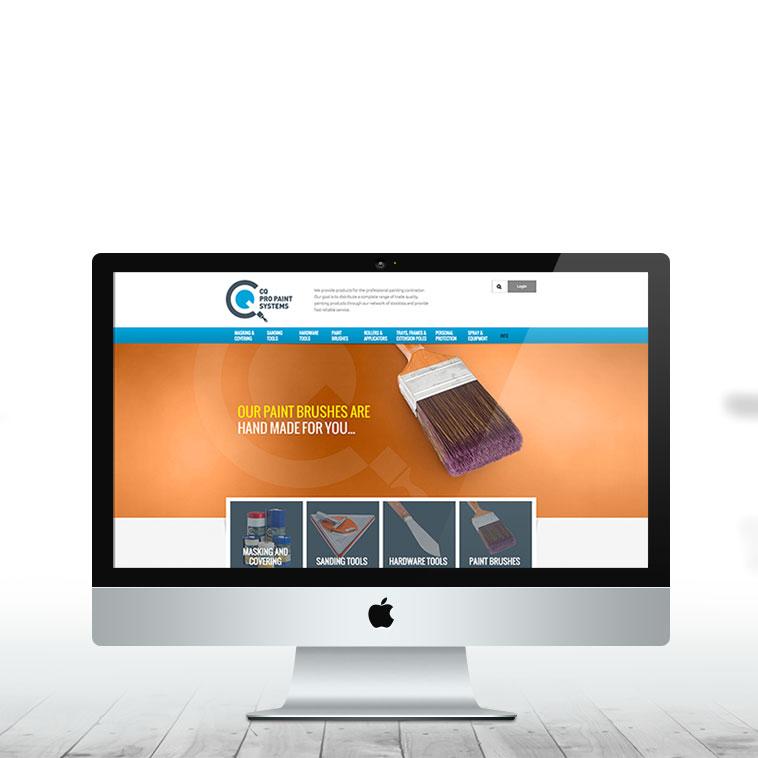CQ Pro Paint | Website